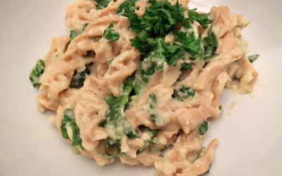 Vegan Cauliflower 'Alfredo' Sauce