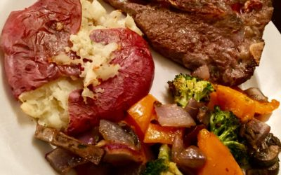 Smashed Potatoes and Roasted Vegetables Recipes