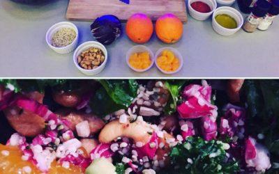 Massaged Citrus Kale Salad