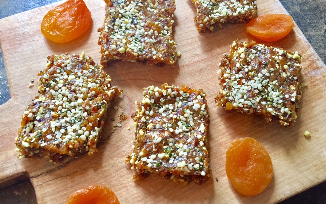 Turmeric and Ginger Apricot Energy Bars